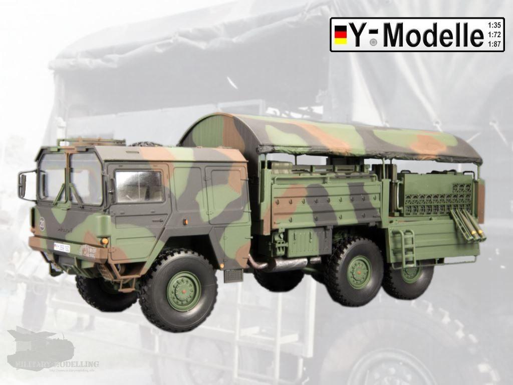 Y-Modelle: Rüstsatz EBS Mannschafts- & Mun-Wagen für FH-70 (FH155-1)