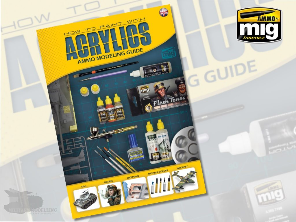 AMMO by Mig: Modelling Guide – How to paint with Acrylics