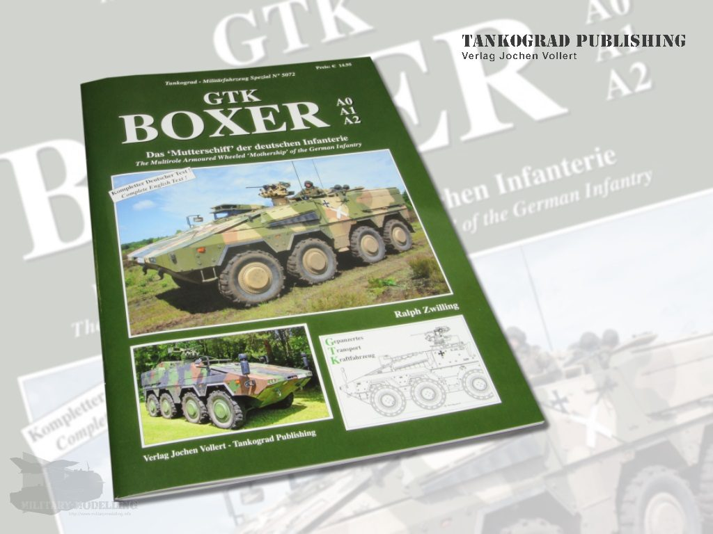 Tankograd Publishing: GTK BOXER A0 A1 A2