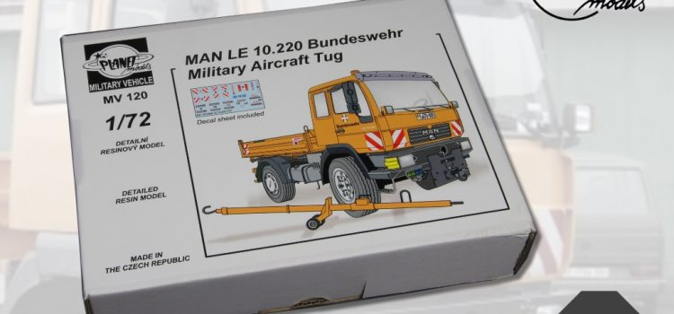 Planet Models: MAN LE 10.220 Bundeswehr Military Aircraft Tug