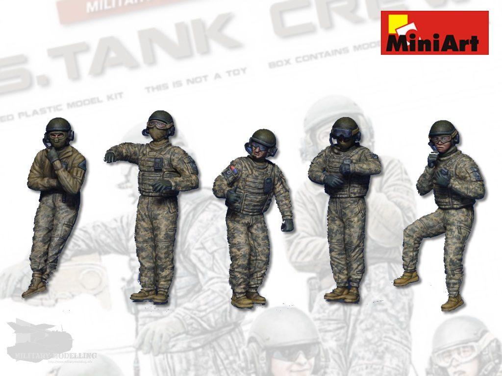Miniart: U.S. Tank Crew