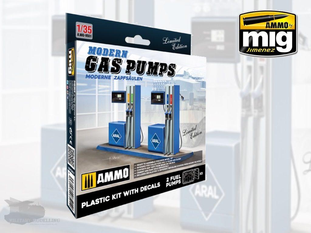 AMMO by Mig: Modern Gas Pumps