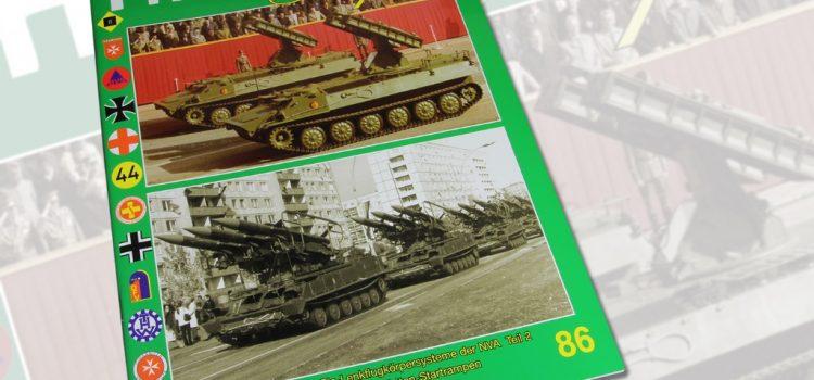 Unitec Medienvertrieb: Fahrzeug Profile 86 – Fla-Lenkflugkörpersysteme der NVA Teil 2