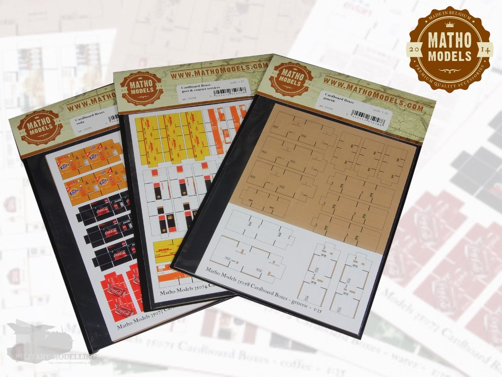 Matho Models: Cardboard Boxes