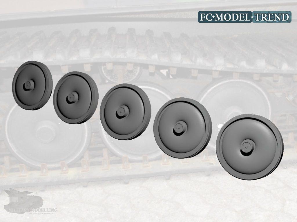 FC MODEL TREND: BV 206S early wheels