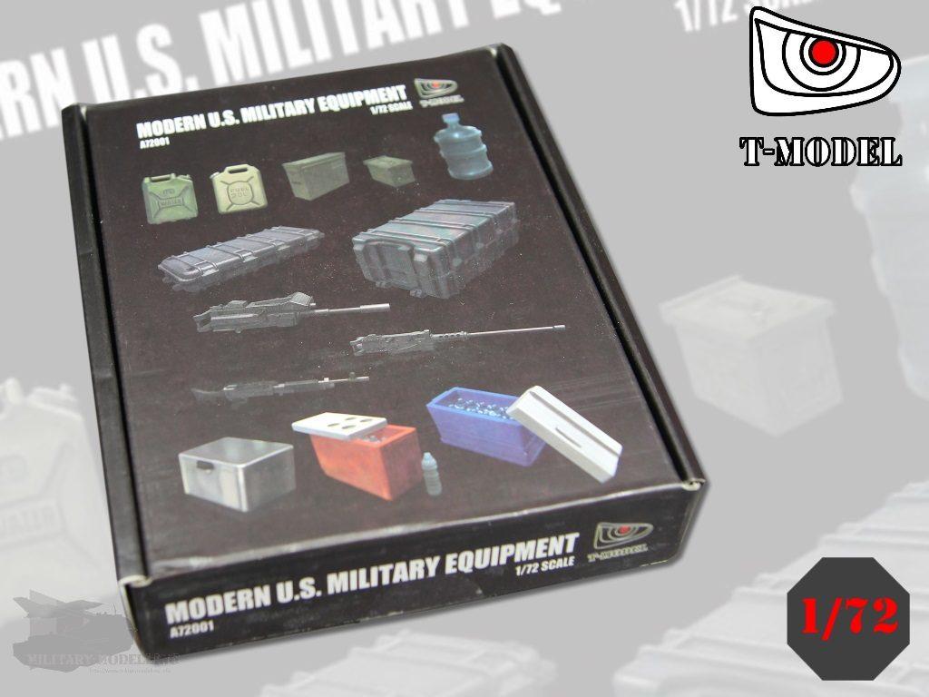 T-MODEL: Modern U.S. Military Equipment