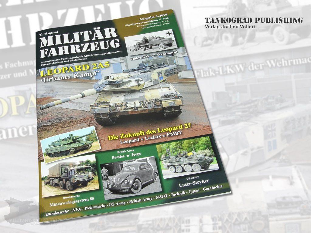 Tankograd Publishing: Militärfahrzeug 4/2018