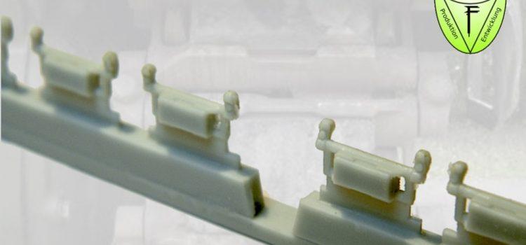 Perfect Scale Modellbau: M113 Diehl 513B Einzelgliederkette