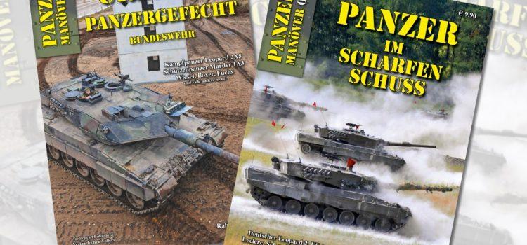 Tankograd Publishing: Panzermanöver 03 und 04 – Urbanes Panzergefecht und Panzer im scharfen Schuss