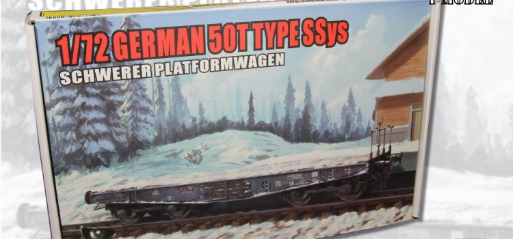 T-MODEL: 50 tons Type SSys Schwerer Plattformwagen
