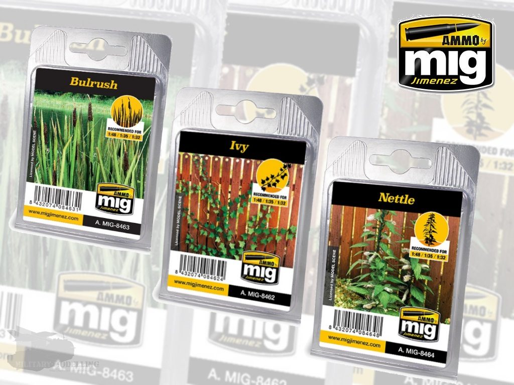 AMMO by Mig: Vegetation – Bulrush, Ivy, Nettle