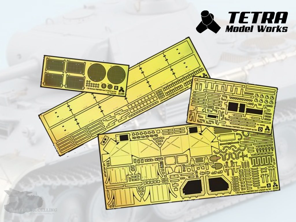 Tetra Model Works: German Panther Ausf. A Detail Up Set's