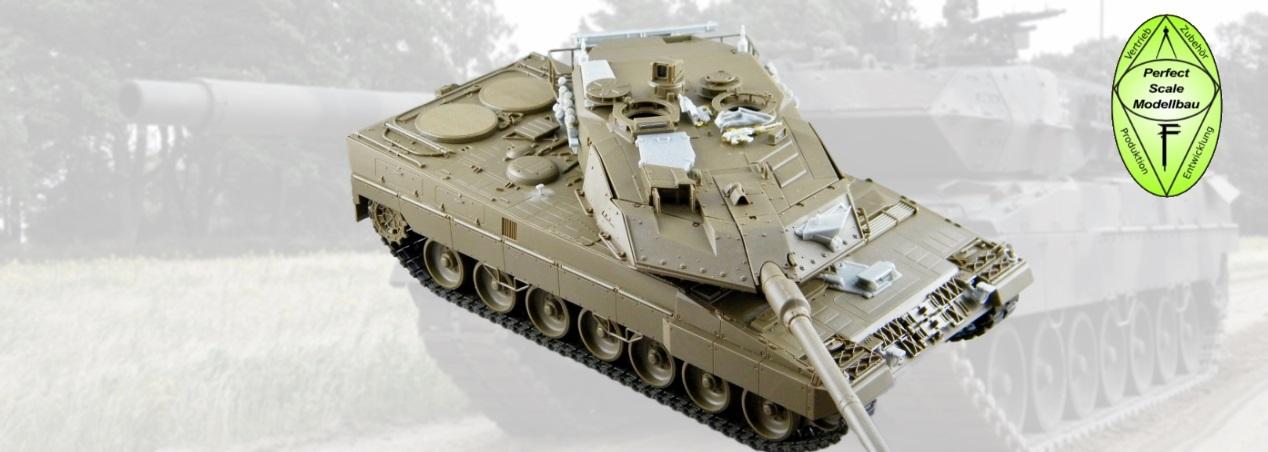 Perfect Scale Modellbau: Leopard 2A6MA2