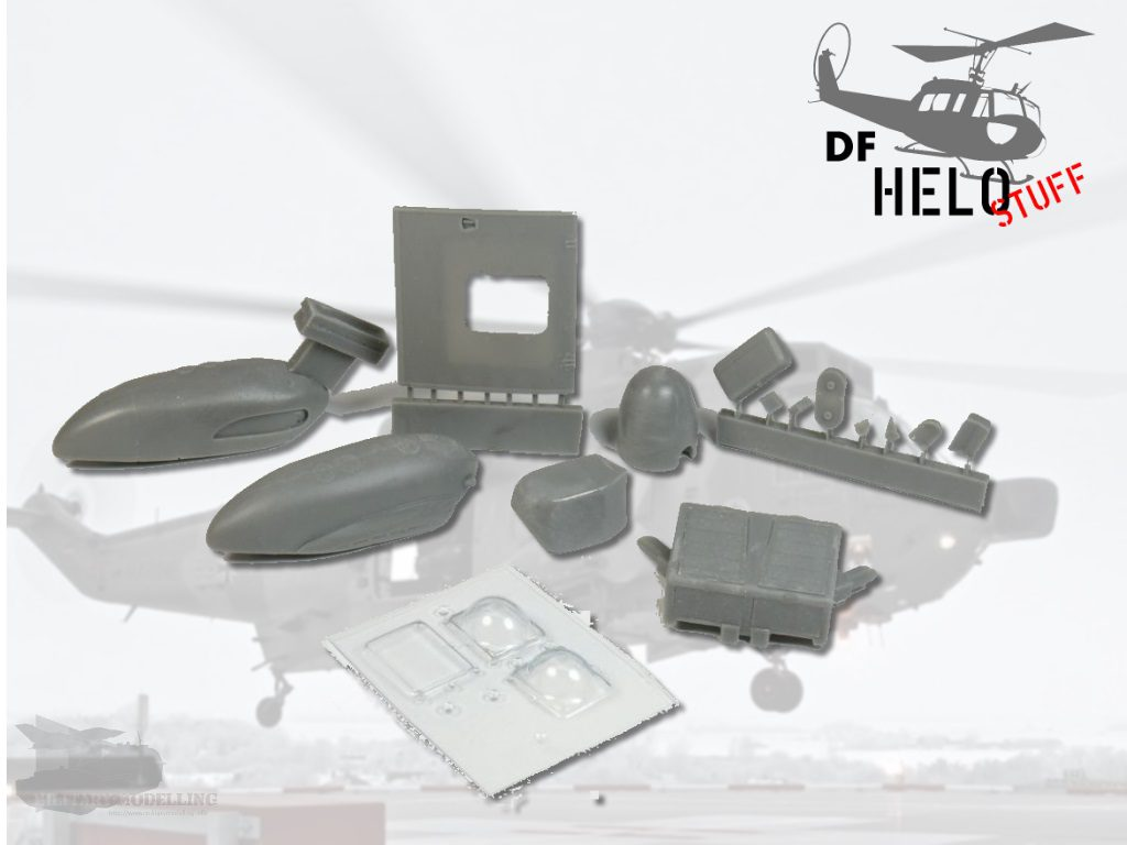 DF-HELOSTUFF: Westland Sea King Mk.41 Exterieur Detailset 1:48