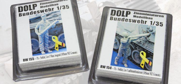 DOLP Modellbau: Pz.-Soldaten beim Aufmunitionieren