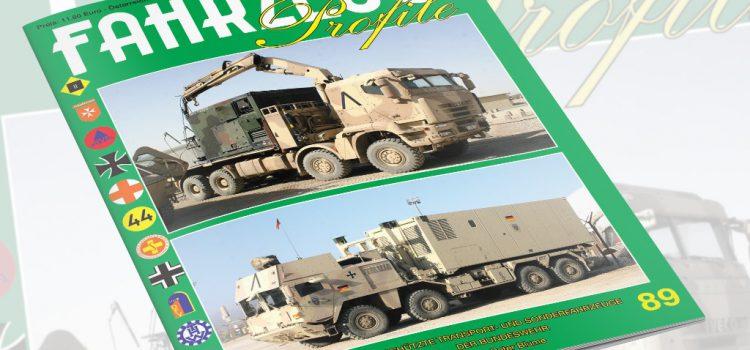 Unitec Medienvertrieb: Fahrzeug Profile 89 – Geschützte Transport- und Sonderfahrzeuge der Bundeswehr