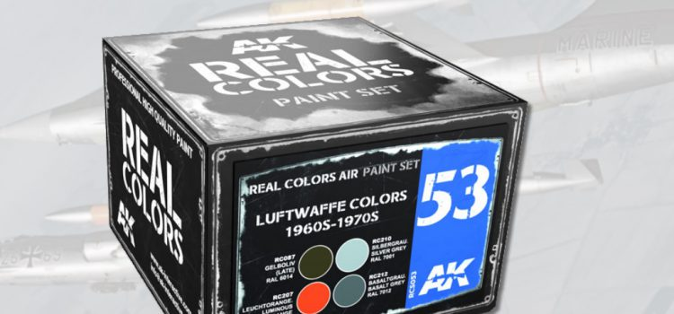 AK Interactive: LUFTWAFFE COLORS 1960S-1970S Set
