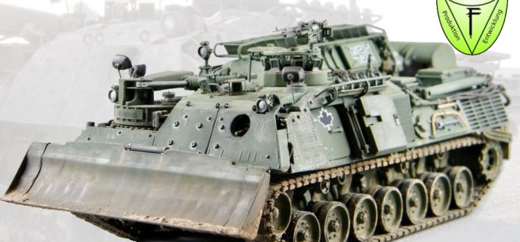 Perfect Scale Modellbau: Leopard 1 AEV Badger early & MEXAS (late)