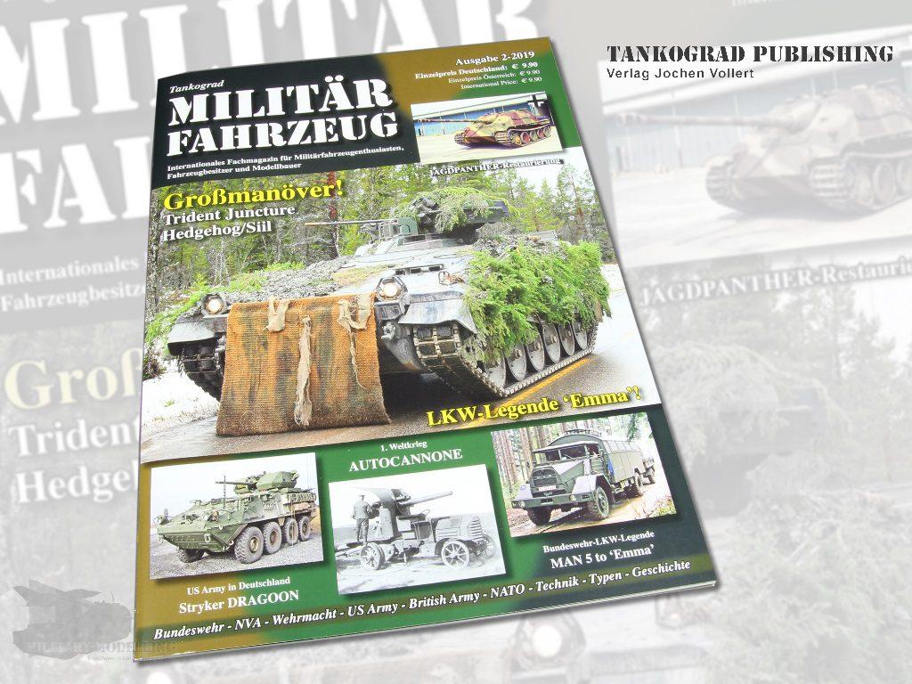 Tankograd Publishing: Militärfahrzeug 2/2019