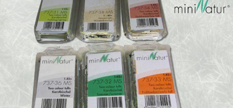 Silhouette – MiniNatur: Büschel und Streifen