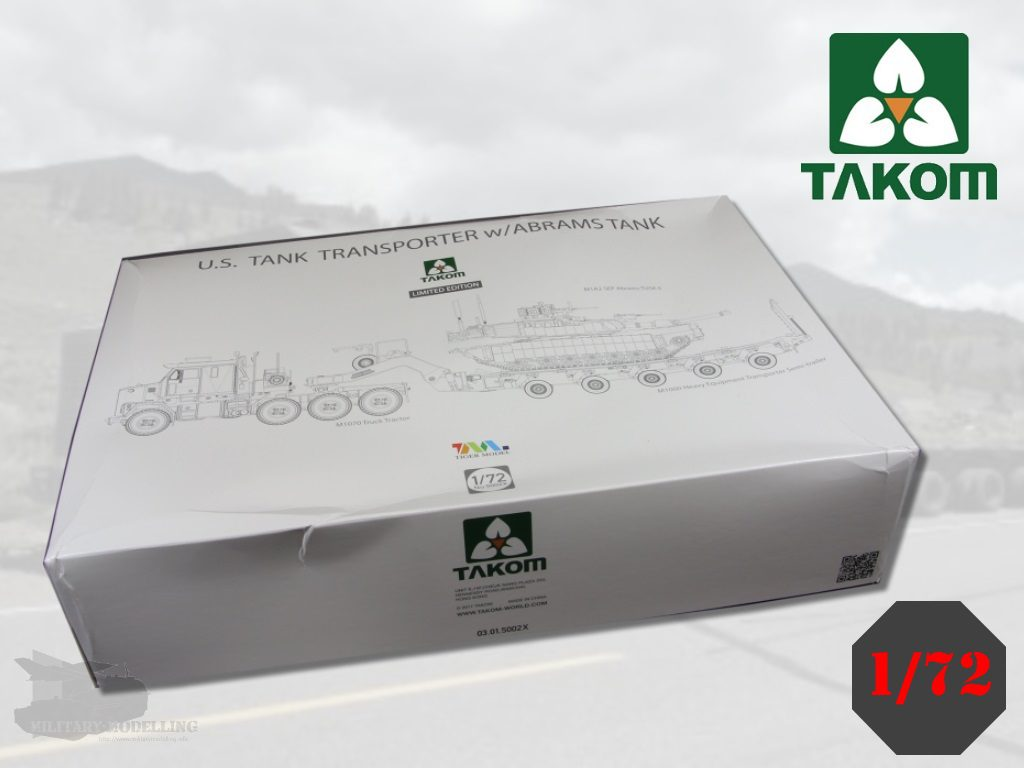 TAKOM: M1070 HET & M1000 w/ABRAMS TANK Limited Edition