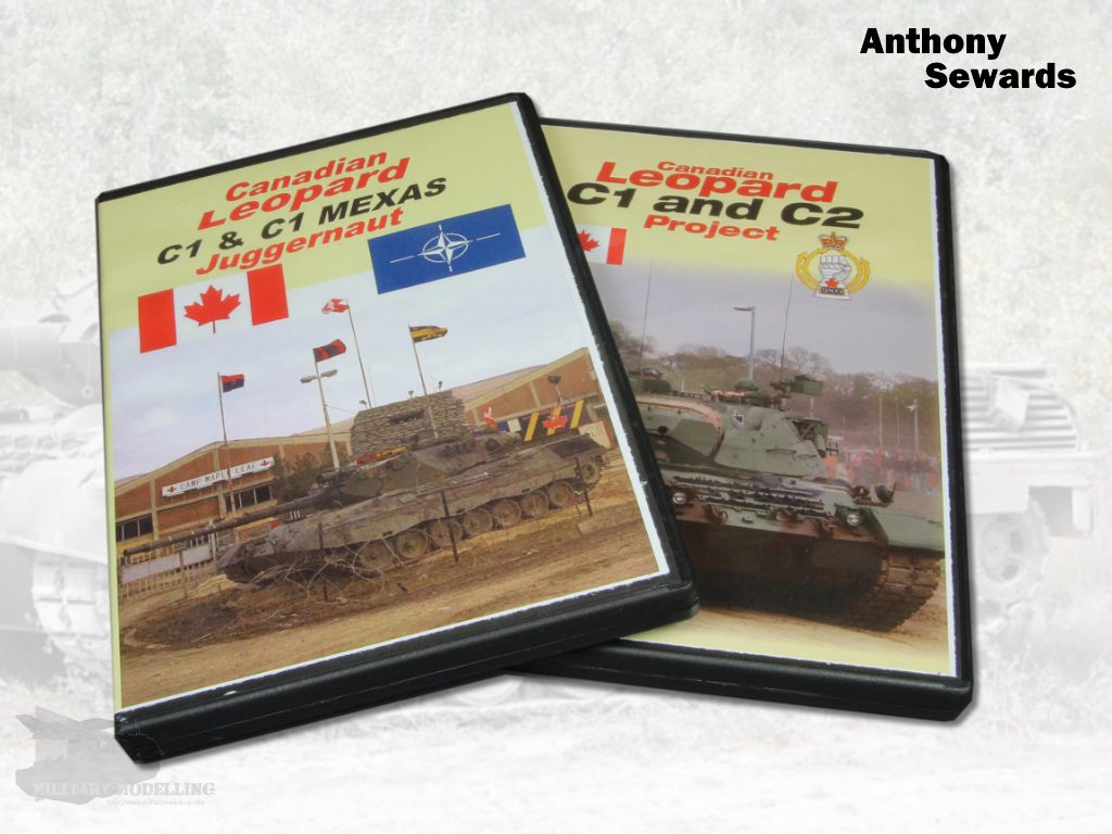 Anthony Sewards: Canadian Leopard – C1& C1 MEXAS, C1 & C2 Project DVD