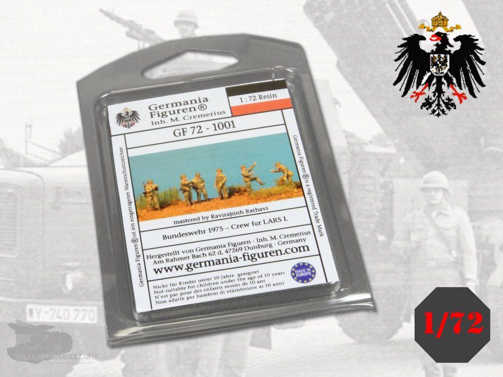 Germania Figuren: Bundeswehr 1975 – Crew für LARS 1