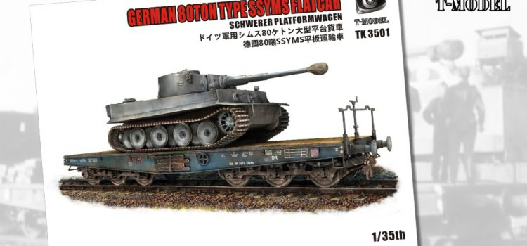 T-MODEL: German 80tons Type SSyms Flatcar