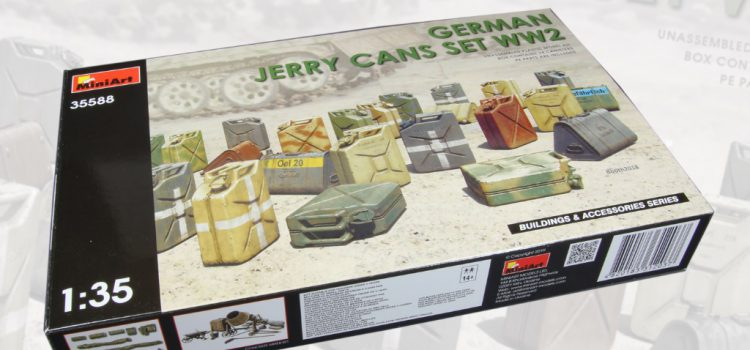 MiniArt: German Jerry Cans Set WW2
