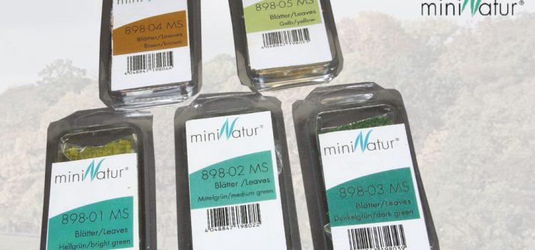 Silhouette – MiniNatur: Blätter
