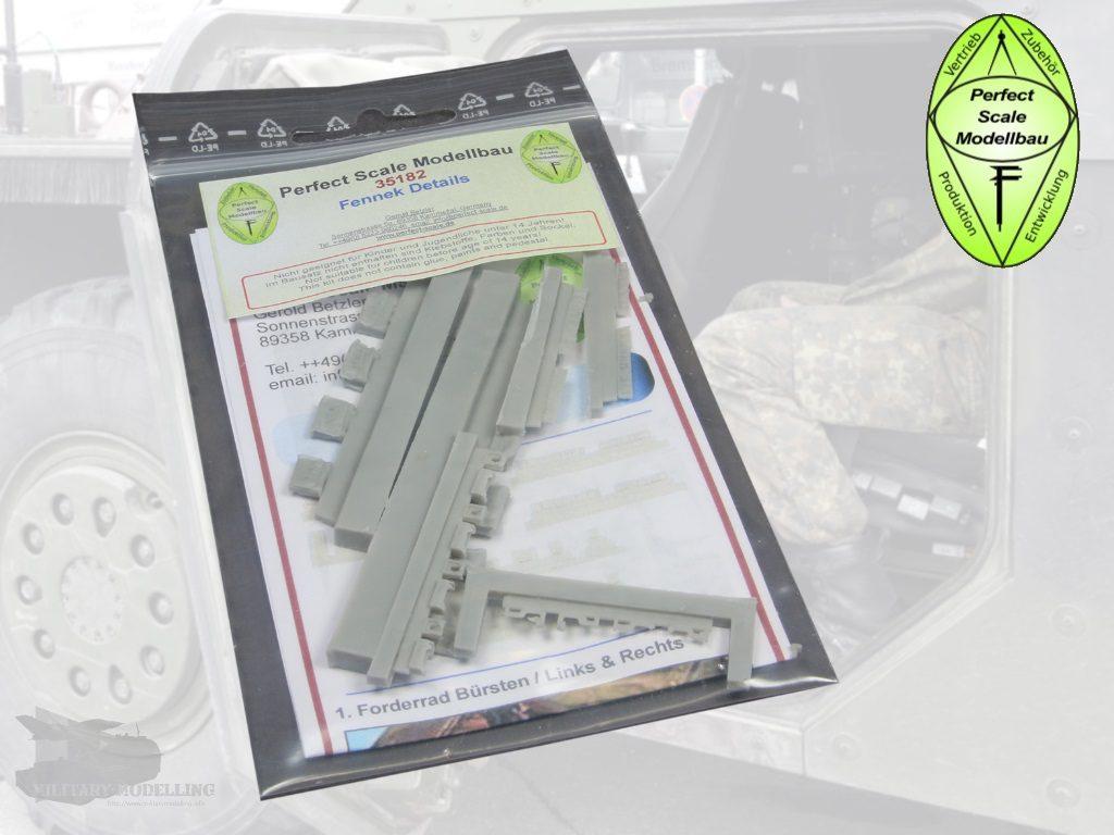 Perfect Scale Modellbau: Fennek Details