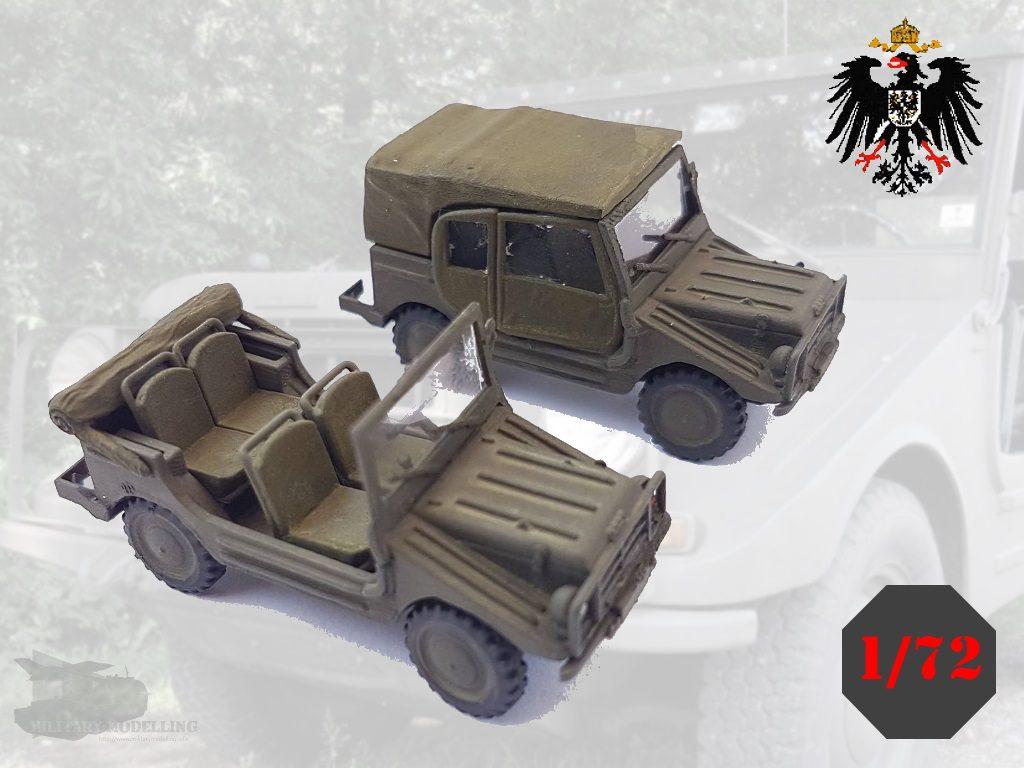 Germania Figuren: DKW Munga – Bundeswehr 1975