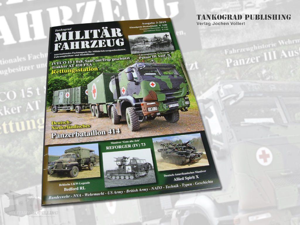 Tankograd Publishing: Militärfahrzeug 3-2019