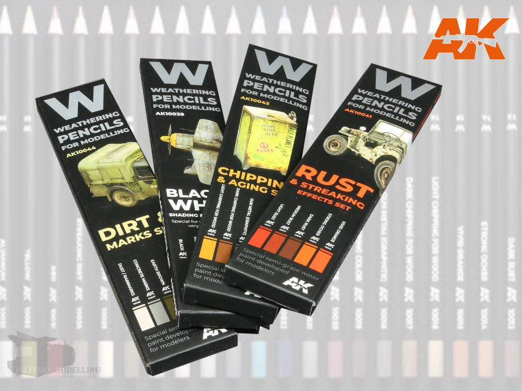 AK Interactive: Weathering Pencils