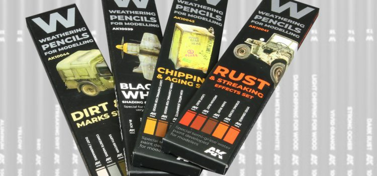 AK Interactive: Weathering Pencils