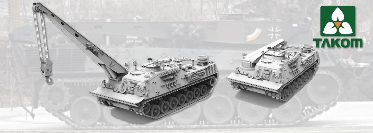 Takom: Bergepanzer 2