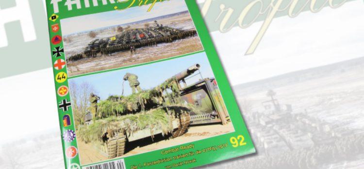 """Unitec Medienvertrieb: Fahrzeug Profile 92 – """"Combat Ready – Die 1. Panzerdivision trainiert für die VJTF(L) 2019"""""""