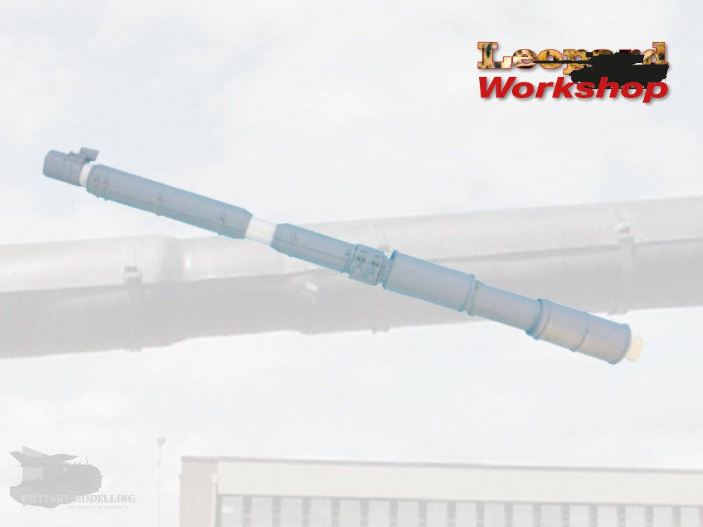"Leopard Workshop: Leopard 1 L7 Gun Barrel ""European Thermal Sleeve"""