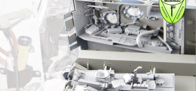 Perfect Scale Modellbau: Inneneinrichtung / Interior Bergepanzer 2