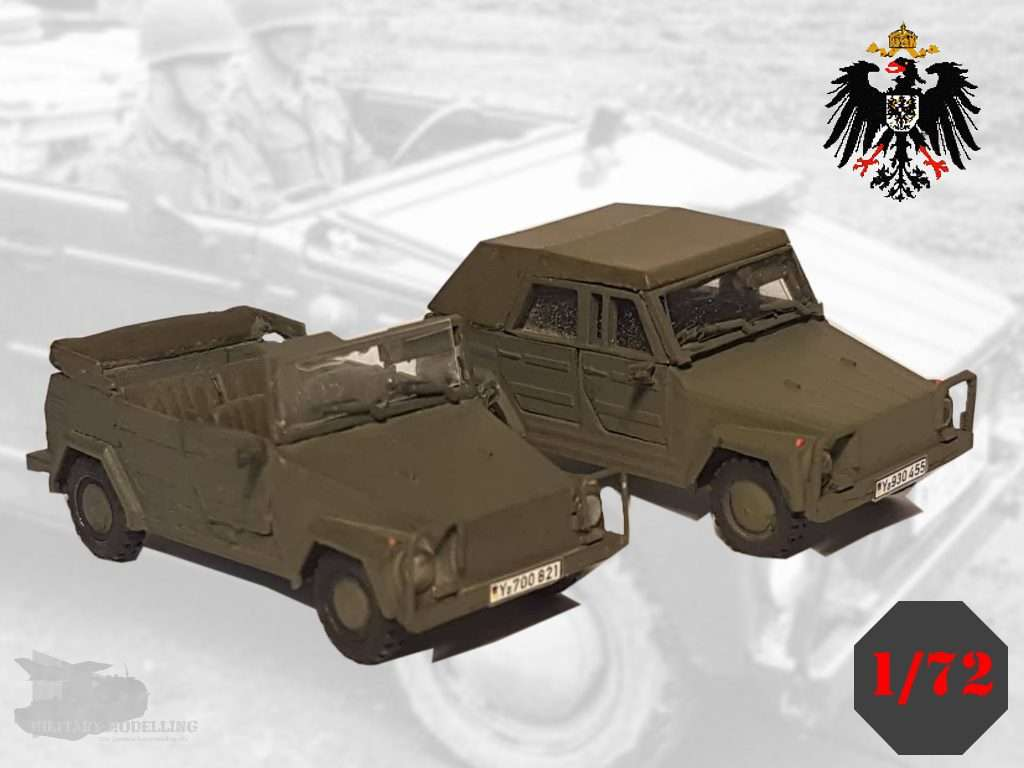 Germania Figuren: VW 181 – Kurierwagen