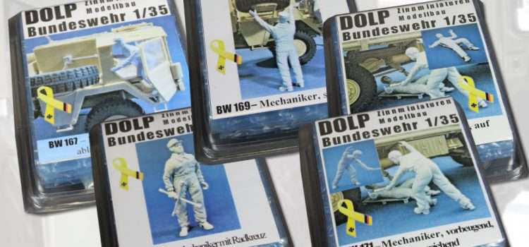 DOLP Modellbau: Mechaniker für MAN 5t mil gl/glw