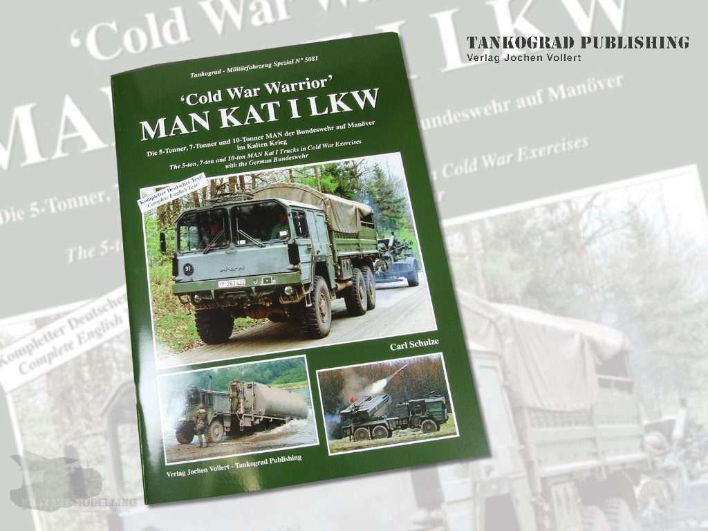 Tankograd Publishing: 'Cold War Warrior' MAN KAT I LKW