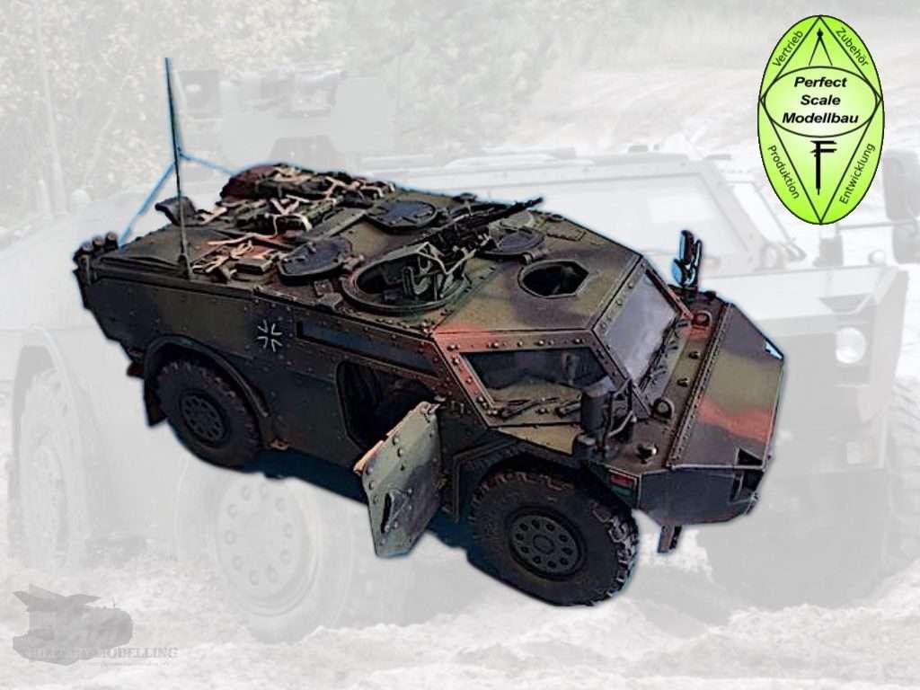 Perfect Scale Modellbau: Fennek Pionierfahrzeug