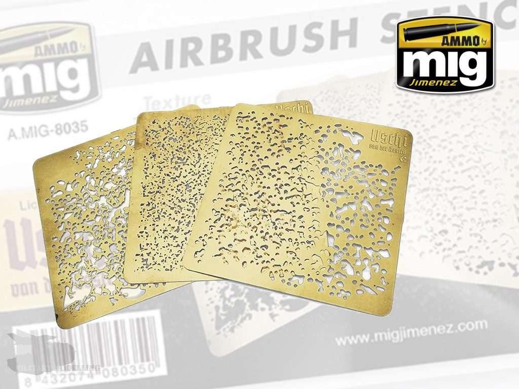 AMMO by Mig: Airbrush Stencils