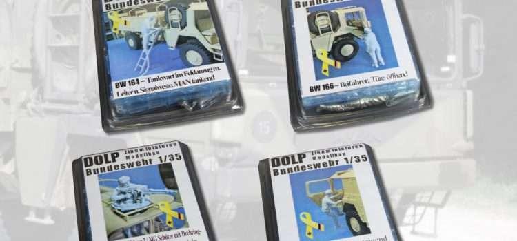DOLP Modellbau: Fahrer und Beifahrer für MAN 5t mil gl