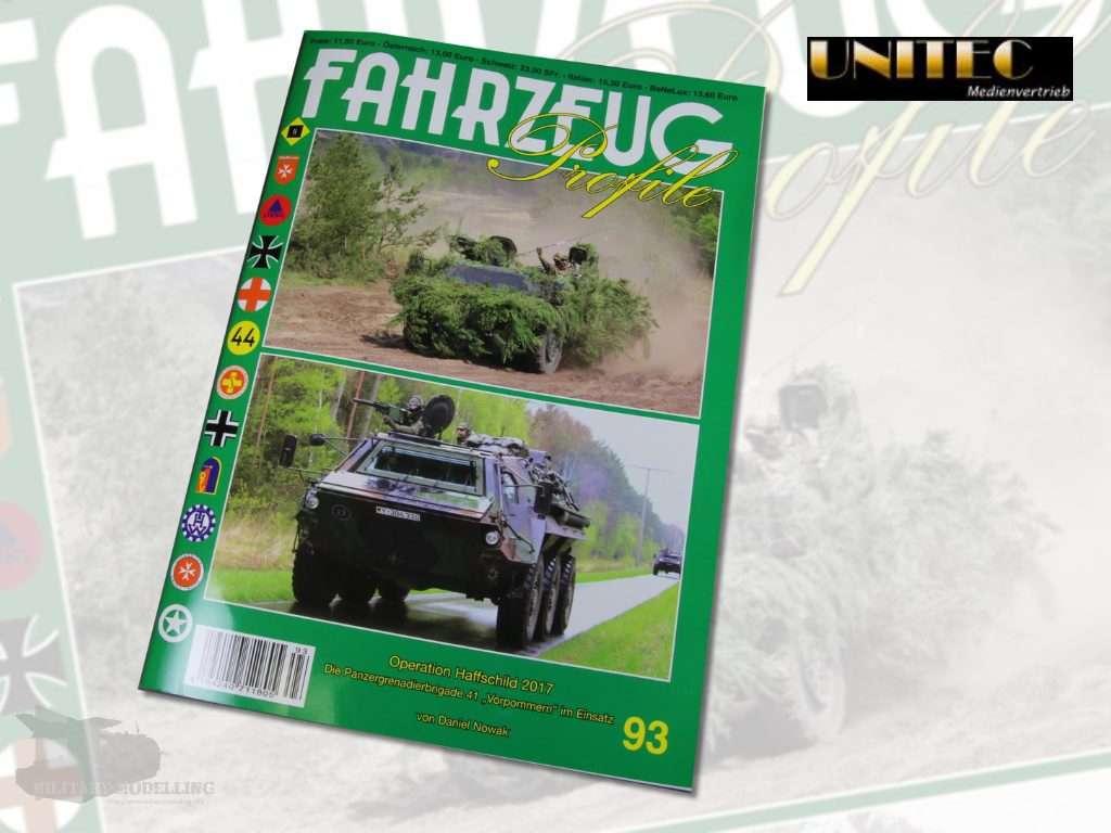 Unitec Medienvertrieb: Fahrzeug Profile 93 – Operation Haffschild 2017