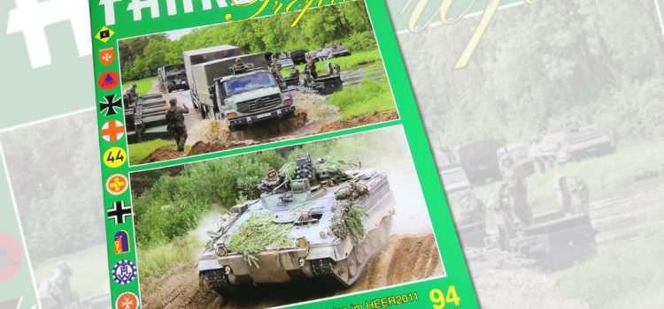 Unitec Medienvertrieb: Fahrzeug Profile 94 – Die 1. Panzerdivision im HEER2011