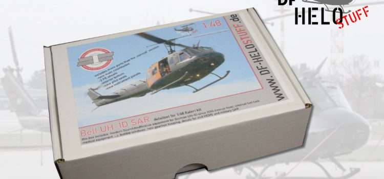 "DF HELOSTUFF: Bell UH-1D SAR detailset ""Rivet-Counter""-Edition"