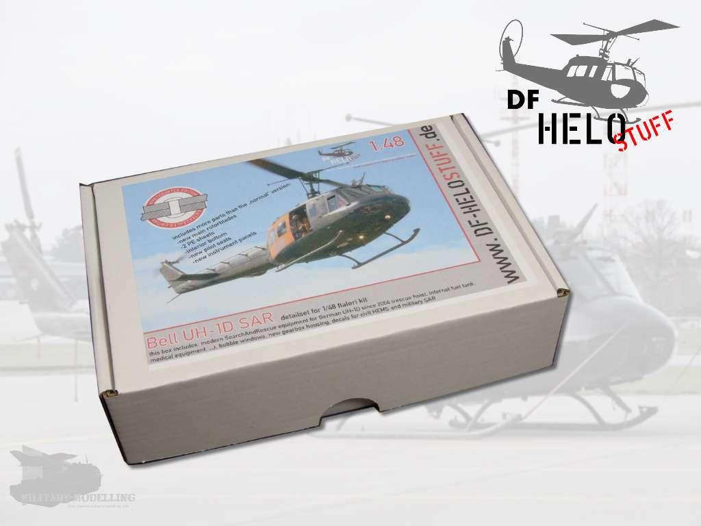 """DF HELOSTUFF: Bell UH-1D SAR detailset """"Rivet-Counter""""-Edition"""