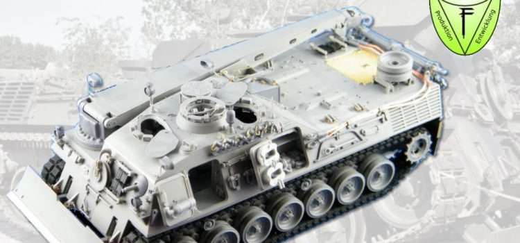 Perfect Scale Modellbau: Bergepanzer 2 Detail Upgrade Kit